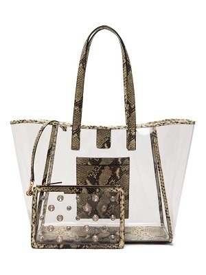 Sophia Webster dina pvc tote bag