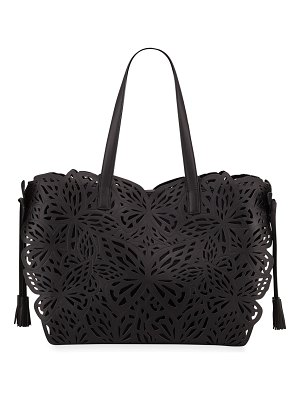 Sophia Webster Liara Canvas Butterfly Tote Bag
