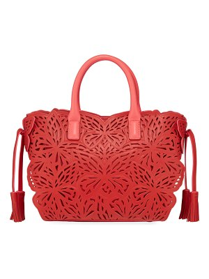 Sophia Webster Liara Mini Laser-Butterfly Tote Bag