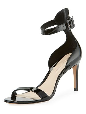 Sophia Webster Nicole Patent Mid-Heel Sandals