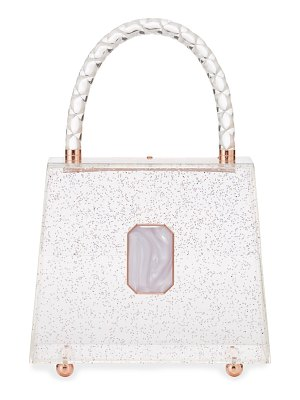 Sophia Webster Patti Glitter Top-Handle Bag