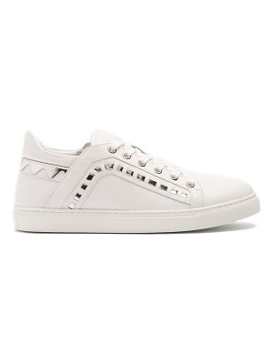 Sophia Webster Riko leather low-top trainers