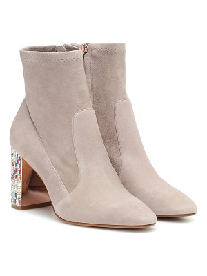 Sophia Webster toni embellished suede ankle boot