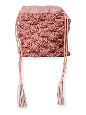 Sophie Anderson Adia Hand-Knitted Bucket Bag