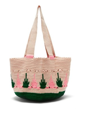 Sophie Anderson hoyas woven tote bag
