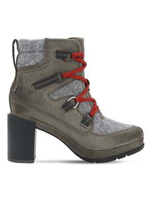 Sorel Blake suede lace-up boots