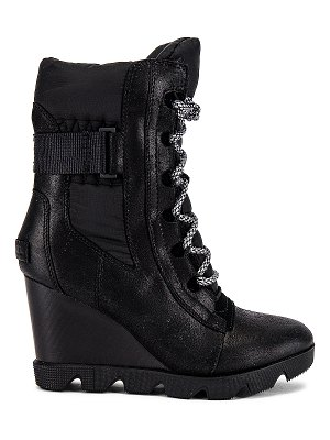 Sorel joan uptown mid lace boot