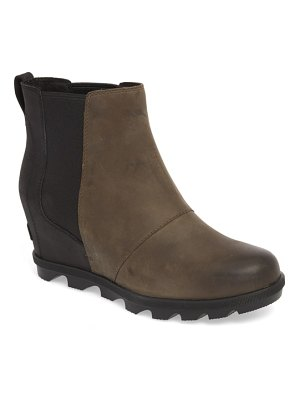 Sorel joan wedge ii waterproof chelsea bootie