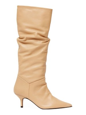 Souliers Martinez elena knee-high leather boots