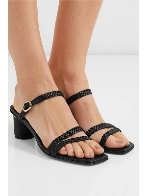Souliers Martinez marsella braided leather mules