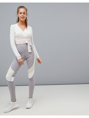 South Beach contrast waist legging