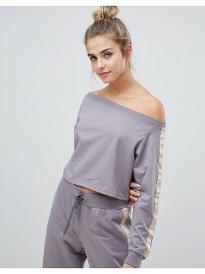 South Beach off the shoulder sweater