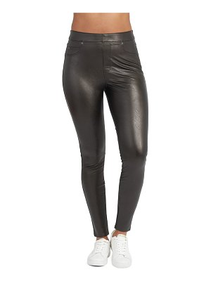 SPANX spanx faux leather-like ankle skinny pants