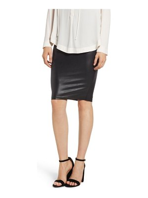 SPANX spanx faux leather pencil skirt