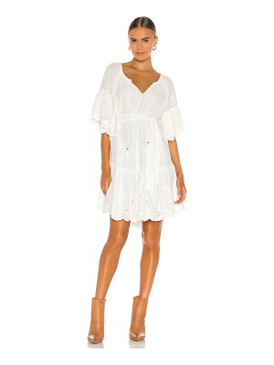 Spell & The Gypsy Collective broderie anglaise frill smock dress