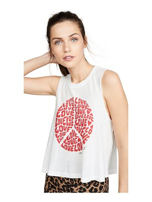 Spiritual Gangster love crop tank