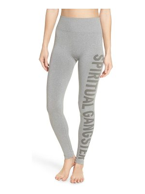 Spiritual Gangster seamless high waist leggings