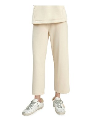 Splendid Cascade Wide-Leg Crop Sweatpants