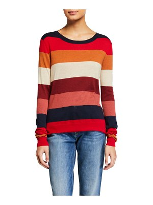 Splendid Duke Striped Long-Sleeve Pullover