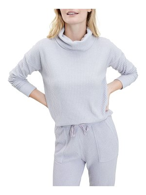 Splendid Firestone Thermal Cowl-Neck Sweater