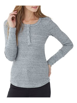 Splendid Forever Thermal Henley Top