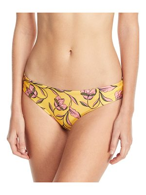 Splendid Golden Girls Floral-Print Swim Bikini Bottoms