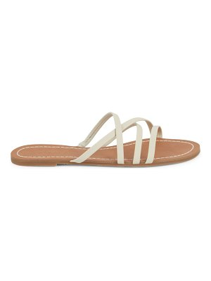 Splendid Mia Leather Flat Sandals