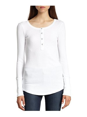Splendid thermal henley top