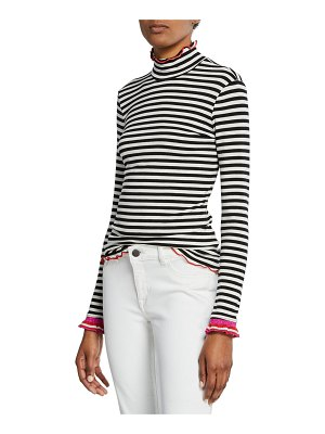 Splendid x Margherita Dolce Vita Striped Turtleneck Top