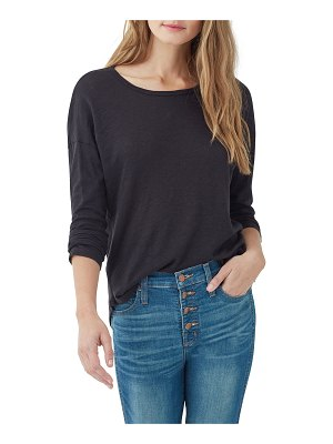 Splendid Zander Easy Slub Long-Sleeve Crewneck Tee