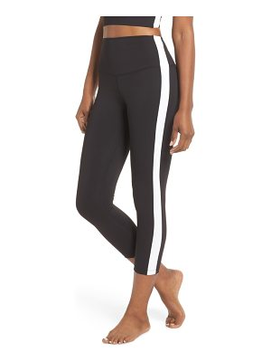 Splits59 rose high waist capri leggings