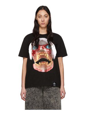 S.R. STUDIO. LA. CA. ed. 50 white haired red skull t-shirt