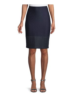 St. John Caris Knit Pencil Skirt