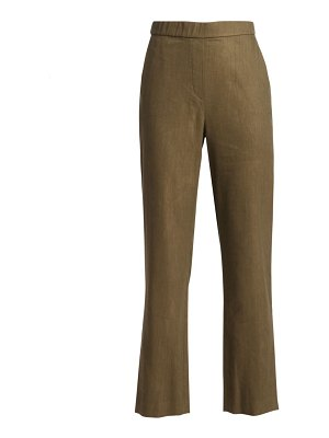 St. John stretch linen twill pants