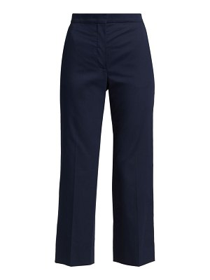 St. John stretch sateen ankle pants