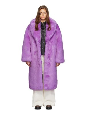 Stand Studio purple clara coat