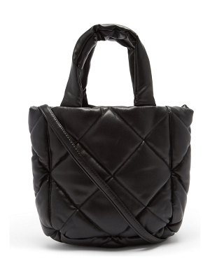 Stand Studio rosanne mini quilted faux-leather tote bag