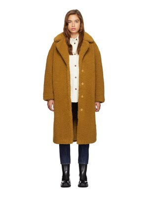Stand Studio tan camilla coat