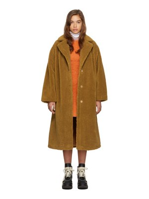 Stand Studio tan maria coat