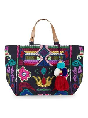 Star Mela Vita Embroidered Tote