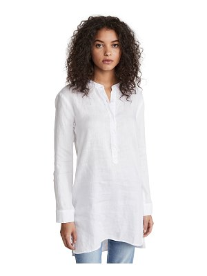 Stateside linen button up tunic