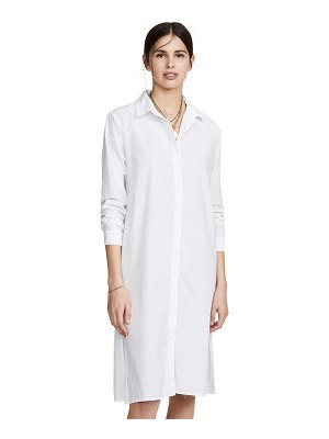 Stateside poplin shirt dress