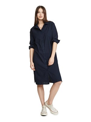 Stateside poplin shirtdress