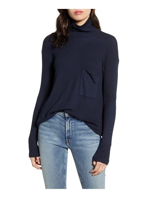Stateside thermal funnel neck top