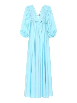 STAUD amaretti stretch-cotton maxi dress