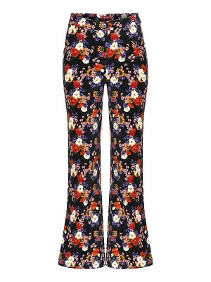 STAUD austin floral cotton pants
