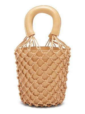 STAUD bisset leather bucket bag