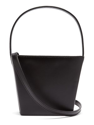 STAUD edie leather bucket bag