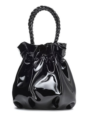 STAUD Grace patent leather tote