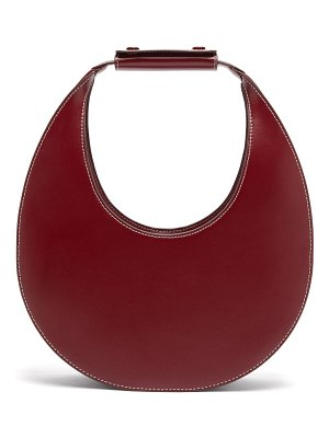 STAUD moon leather shoulder bag